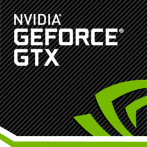 GTX Geforce Nvidia logo