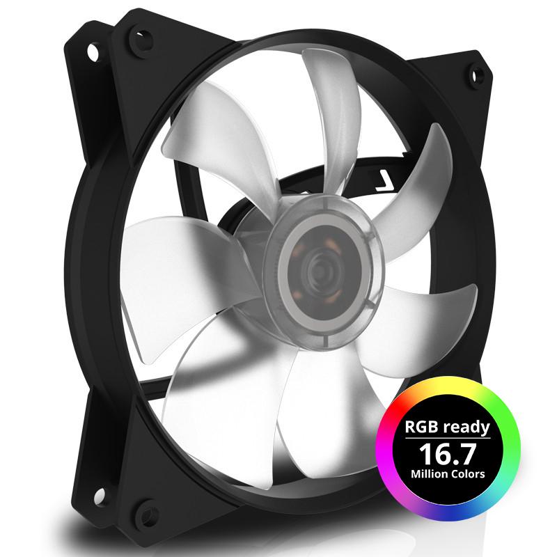 Ventilador Cooler Master Masterfan Mf120L Rgb 1200 Rpm