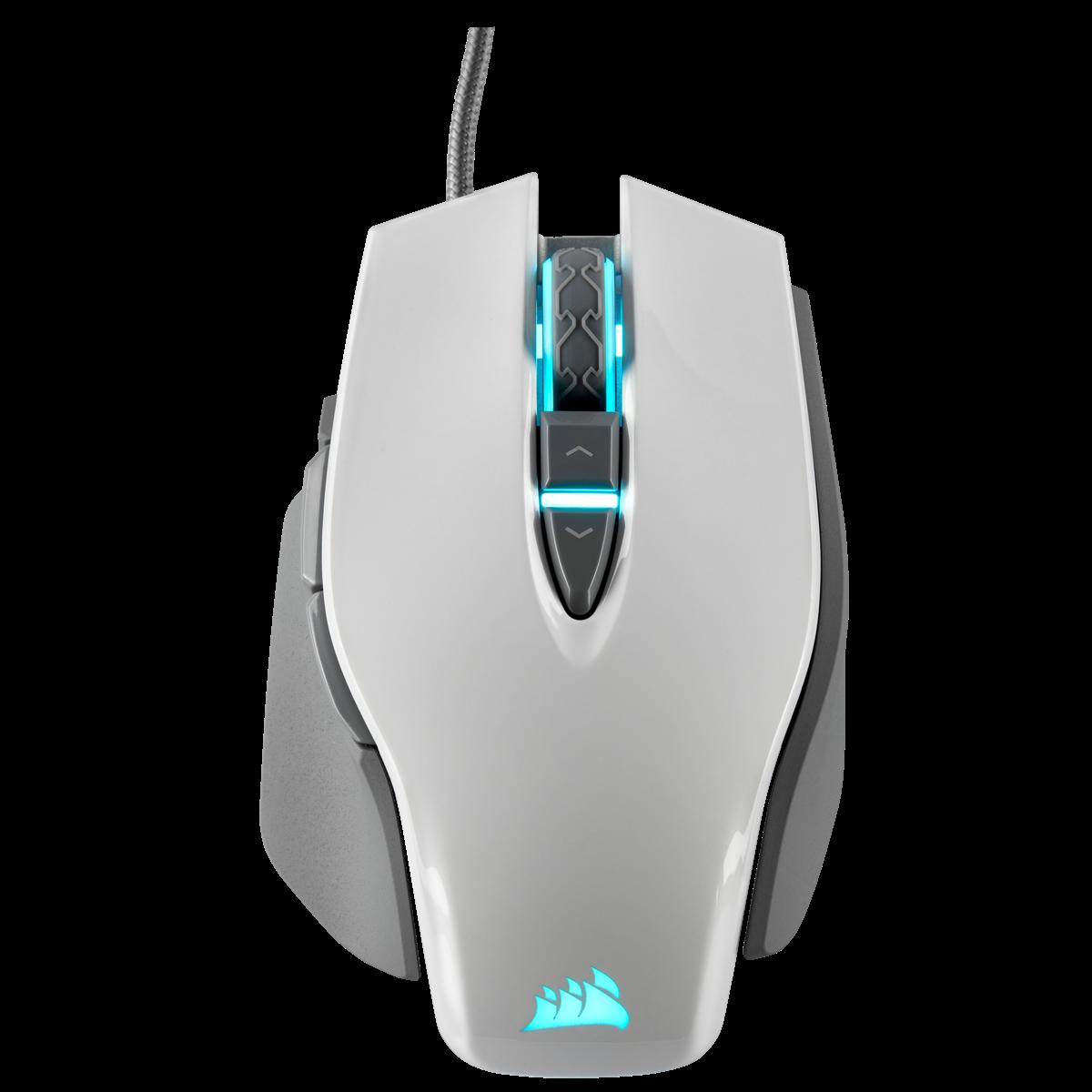 Mouse Gamer Corsair M65 Rgb Elite Ajustable Fps, Blanco - Clones y  Periféricos
